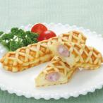 冷凍食品 業務用 ソーセージワッフル 300g 5個入 洋食 スナック ソーセージ 学園祭 フランクフル