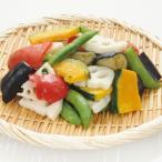 グルメ 冷凍食品 業務用 5色の彩りごろっと野菜ミックス 380g 19531 冷凍野菜 パック野菜 時短 彩り かぼちゃ れんこん スナップえんどう 揚げなす 赤パプリカ