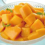 グルメ 冷凍食品 業務用 完熟マンダリンマンゴー  カット済み 500g  弁当 芒果 フルーツ トッピング かき氷 デザート