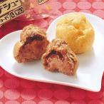 グルメ 冷凍食品 業務用 2つのプチシュー (カスタード&チョコ) 約24g×40袋入 20088 カフェ デザート スイーツ おやつ ひとくち こども デザート