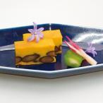 冷凍食品 業務用 紫花豆と南瓜のカステラ 460g (カットなし) 21961 焼菓子 カステーラ なんきん かぼちゃ 和菓子