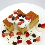 冷凍食品 業務用 黒糖キャラメルケーキ 430g (カットなし) 21965 濃厚 黒糖 キャラメル 洋菓子 デザート 洋風デザート