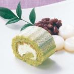 冷凍食品 業務用 ロールケーキ (宇治抹茶) 200g (カットなし) 22223 洋菓子 デザート ケーキ まっちゃ おやつ スイーツ フリーカット