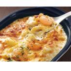 冷凍食品 業務用 海老とチーズのグラタン 200g 22430  ペンネ マカロニ ホワイトソース レンジ