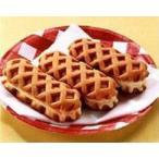 冷凍食品 業務用 原宿ドックミニ (チーズCa) 40g×40個入 4396 ワッフル スナック おやつ 冷凍 洋菓子 デザート