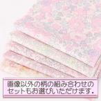 『リバティお試しセット』リバティプリント『SANDOオリジナル』カットクロス5枚セット