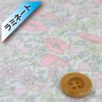 (サンドウオリジナルカラー)リバティプリント タナローン(ラミネート加工)『Poppy&Daisy ポピー&デイジー』ベビーピンク(02-3632104/J16A)