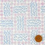 (サンドウオリジナルカラー)リバティプリント タナローン生地『Sleeping Rose スリーピング・ローズ』シャーベットピンク(3630275・J19D)