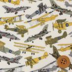 リバティプリント タナローン『Tom's Jet トムズ ジェット』カーキ(サンドウ限定復刻色/3631176)