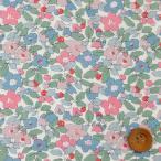 リバティプリント タナローン『Betsy Berry ベッツィ・ベリー』グレーピンク(20-36302107/20AT)