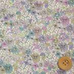 リバティプリント タナローン生地『Pebble ペブル』スミレ(サンドウオリジナルカラー/10-3630152・J16A)