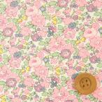 (サンドウ限定復刻色)リバティプリント タナローン生地 『Betsy Ann ベッツィ・アン』ライトピンク(3633257)