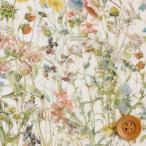 ショッピングプリント リバティプリント タナローン320『Wild Flowers ワイルド・フラワーズ』ライトグリーン&パステル(3634251/14B)