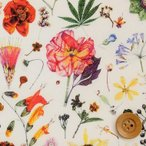 (サンドウ限定復刻色)リバティプリント タナローン生地 『Floral Eve フローラル・イヴ』オフホワイト(3633189)
