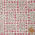 リバティプリント タナローン『Sleeping Rose スリーピング・ローズ』ピンク(3630275/BE)