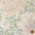 ショッピングプリント リバティプリント タナローン生地 『Rose Xanthe ローズ・ザンジー』ベージュ&ホワイト(ホビーショップサンドウ限定復刻色)(3635180・15C)