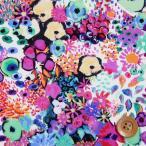 ショッピングプリント リバティプリント タナローン452『Small Artist's Bloom/ピンクパープル』スモール・アーティスツ・ブルーム(16-3636151/J16C)