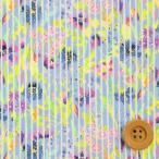 ショッピングプリント リバティプリント タナローン471『Posy Stripe ポージー・ストライプ』ブルー(16-3636185/16B)