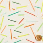 ショッピングプリント リバティプリント タナローン474『Sketch スケッチ』オフホワイト&グリーン(16-3636188/16D)
