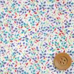 ショッピングプリント リバティプリント タナローン543『Winter Blossom ウィンター・ブロッサム』レッド&グリーン(3636294/16A)