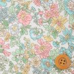 リバティプリント タナローン生地『Emily エミリー』ライトピンク(サンドウ限定復刻色/3636163)