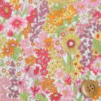 リバティプリント タナローン生地 『Margaret Annie マーガレット・アニー』ピンク(サンドウ限定復刻色)(3631165/11A)