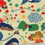 ハローキティ × リバティプリント生地 『Mim Hello Kitty ミム ハローキティ』レッド&ネイビー(DC27906/12B)