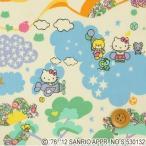 ハローキティ × リバティプリント生地 『Mim Hello Kitty ミム ハローキティ』ライトブルー&グリーン(DC27906/12C)