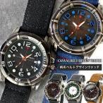 腕時計 帆布ベルト デザインウォッチ メンズ キャンバス アウトドア アウトレット