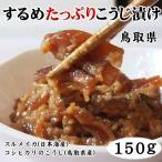 (同梱おすすめ!!)鳥取県加工!するめたっぷりこうじ漬け 1パック(150g)するめいか糀漬け