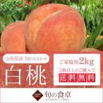 桃 訳あり フルーツ 家庭用 産地直送 2kg お取り寄せグルメ 白桃 旬のおまかせ 山形県産 もも