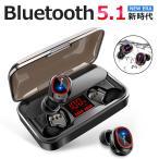 Bluetooth イヤホン ワイヤレスイヤホン Hi-Fi高音質 LEDディスプレイBluetooth5.1 IPX7防水 CVC8.0ノイズキャンセリング&AAC8.0対応(A1S3EJHe)