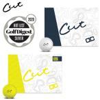 カット デュアルコア ゴルフボール CUT GOLF DC 1ダース12P 2020 USAモデル