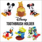 ディズニー ハブラシホルダー/disneyプーミッキーミニー歯ブラシ歯磨き収納ペン立て アメリカン雑貨