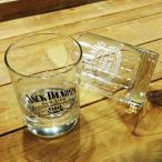 ジャックダニエルロックグラスtype2/グラスjack danielアルコールウイスキーブランデープレゼントウイスキーグラス父の日