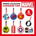 マーベル ラゲッジタグ ■ パスケース ICカードケース マーベルコレクション MARVEL キャプテンアメリカ スパイダーマン アイアンマン アメリカン雑貨