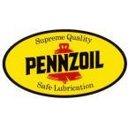 レーシングステッカー PENNZOILペンズオイル ms004 メール便可/ シール ステッカー オイル カンパニー メカニック