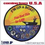 ミリタリー ワッペン アメリカ軍 パッチ USS ニミッツ イラクの自由作戦 2009-10 US.NAVY
