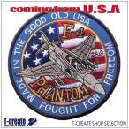 """アメリカ海軍 ミリタリー ワッペン F-4 ファントム """"FOUGHT FOR FREEDOM"""", US.NAVY [並行輸入品]"""