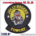 ミリタリー ワッペン アメリカ海軍 パッチ F-14トムキャット VF-84 JOLLY ROGERS, US NAVY