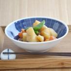 呉須十草 4寸浅鉢 アウトレット 和食器 和皿 中鉢 ボウル 取り鉢 ストライプ 小鉢 サラダボウル