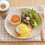 EASTオリジナル frillフリル ディナープレート アイボリー      輪花 パスタ皿 お皿 白い食器 カフェ食器 カレー皿 中皿