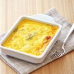 ミニグラタン皿 ホワイト (ウェーブ) グラタン皿 白いグラタン皿 白い食器 トースター用 耐熱食器 オーブンウェア 調理器具  トースタープレート