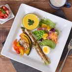 角皿 白 ホワイト 洋食器 EASTオリジナル スクエアプレート 大皿 L STUDIO BASIC ホテル食器 カフェ食器 白い食器 ホワイト シンプル