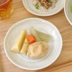 水玉粉引うず 布目4寸皿 14cm 和食器 取り皿 ケーキ皿 水玉食器 和皿 小皿