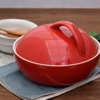 レンジスチーム レッド (マロンオリジナルレシピ付き!)レンジ調理器 耐熱 蒸し料理 蒸し器 簡単蒸し料理