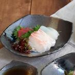 和食器 煮物鉢 変形菱型 黒海 お皿 ボウル 深皿 鉢