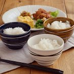 ご飯茶碗(小)らせん minoruba(ミノルバ)茶碗 お茶碗 茶わん 鉢 小鉢 ボウル スープカップ スープボウル サラダボウル デザートボウル 取り鉢 和食器 洋食器