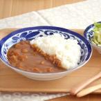 洋食器 パスタ皿 カレー皿 インディゴ 青 ブルー ボウル 24cm アウトレット込み 北欧風 美濃焼 おしゃれ おもてなし かわいい 日本製