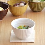 和のスモールボウル 白ガラス アウトレット 和食器 カップ スープボール 小鉢 白い食器 美濃焼